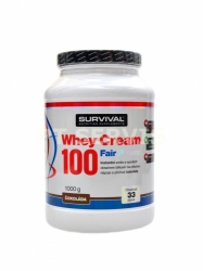 Survival Whey Cream protein 1000 g