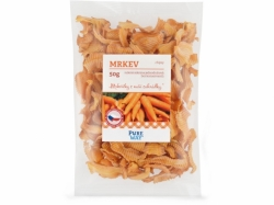 PURE WAY Mrkev - chipsy 50g