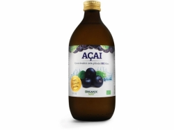 Organic Way Acai Bio 100% šťáva premium quality 500ml