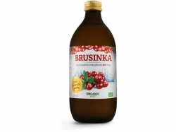 Organic Way Brusinka Bio 100% šťáva premium quality 500ml